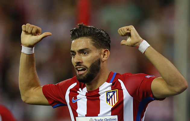 Yannick Carrasco Atletico Madrid La Liga