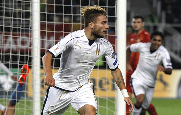 Ciro Immobile Italy Macedonia