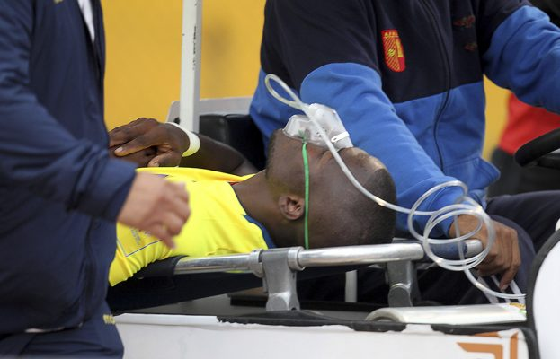Enner Valencia purportedly fakes injury to escape police