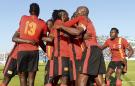 Uganda celebrate