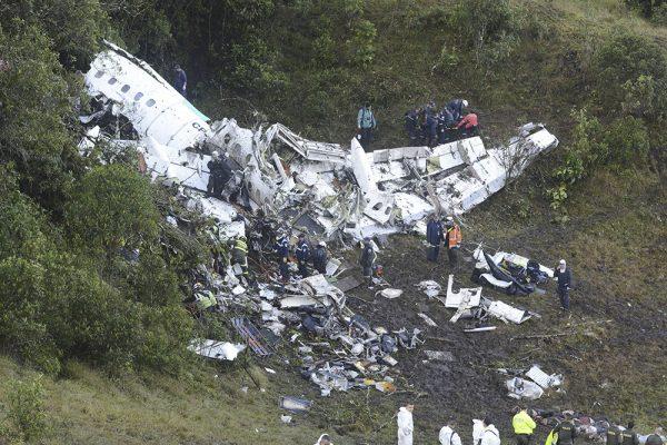 Chapecoense plane crash