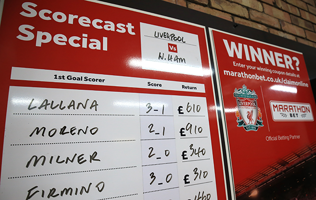 Liverpool bookmakers betting lajedan investments pants