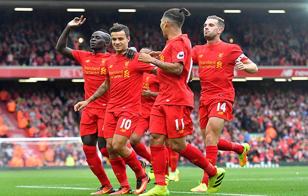 Philippe Coutinho Liverpool ESM November 2016