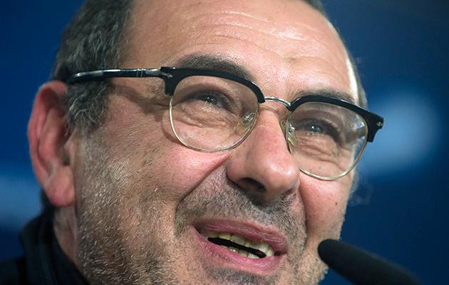 Napoli head coach Maurizio Sarri