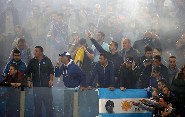 Ultras Italian football something rotten