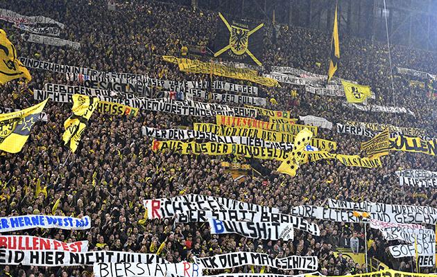 Borussia Dortmund RB Leipzigfans