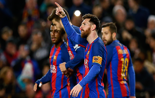 Lionel Messi moves clear at the head of the ESM Golden Shoe standings