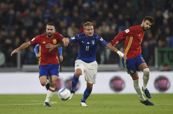 Italy and Spain Meet in the Derby of Group G
