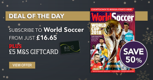 World Soccer subscription Daily Deal