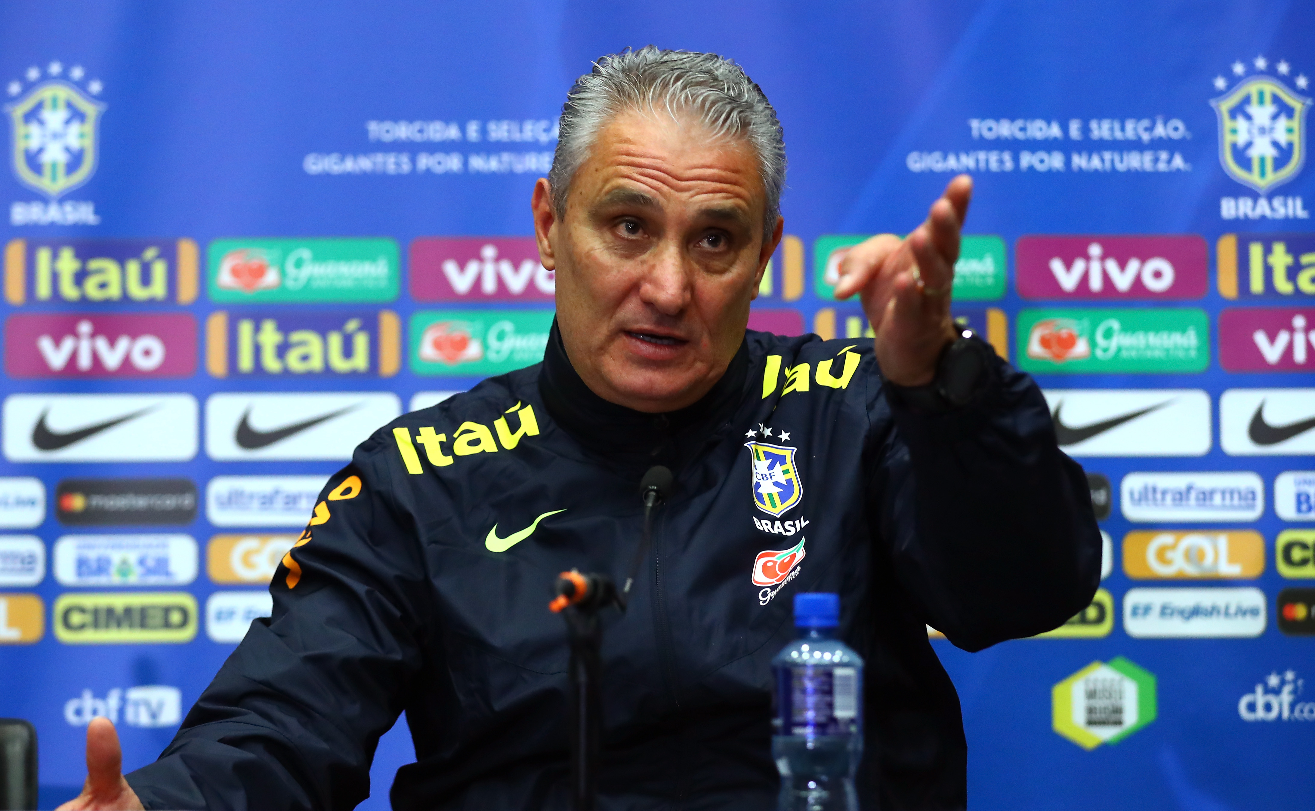 Brazil Coach Tite Facing Selection Challenges Ahead of World Cup