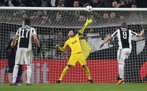 Allegri defends his Juventus players after lead slips away against Spurs