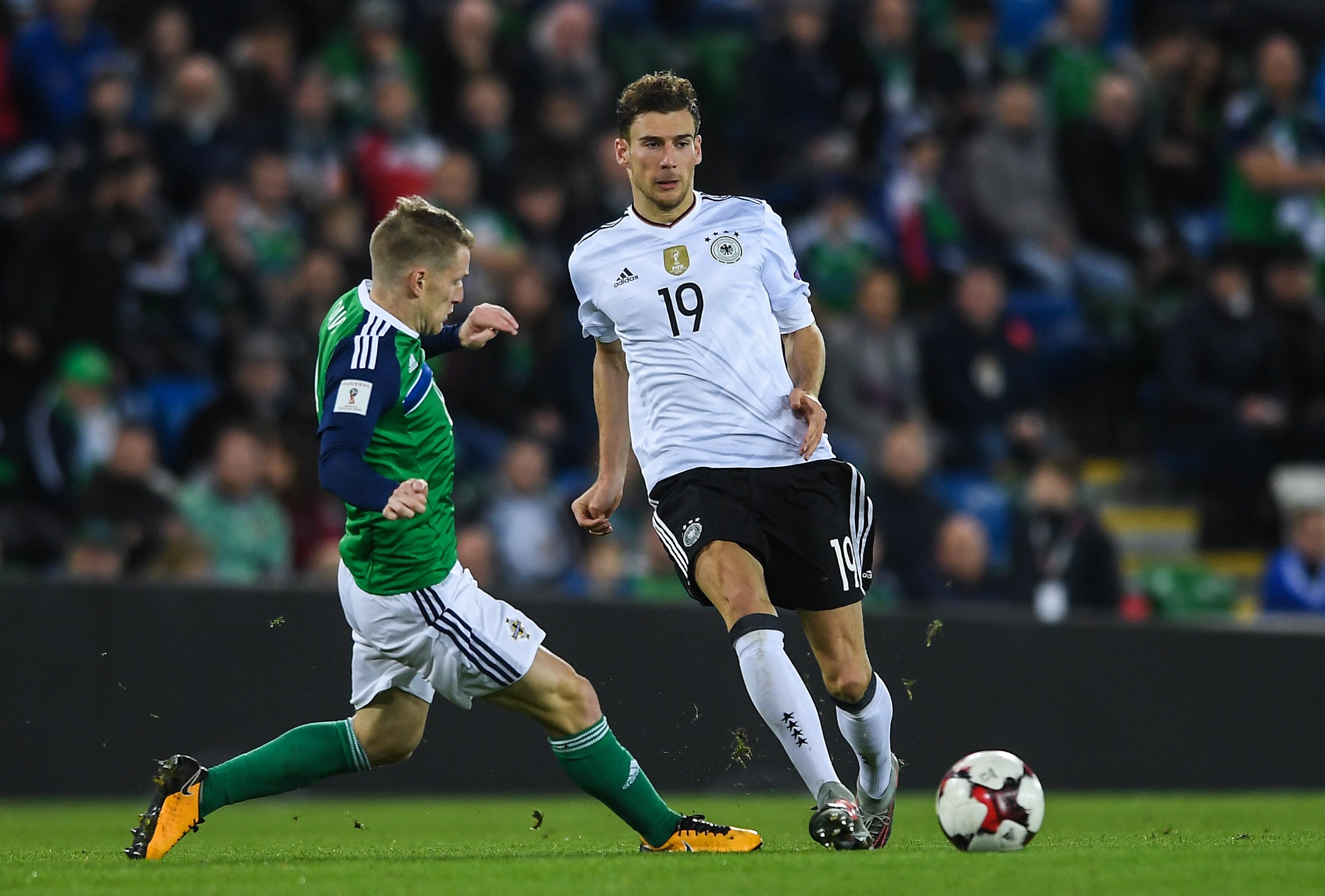 huge selection of c5657 03b06 Leon Goretzka - Bayern Munich and Germany - World Soccer