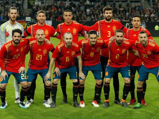 Spanien WM-Spiele