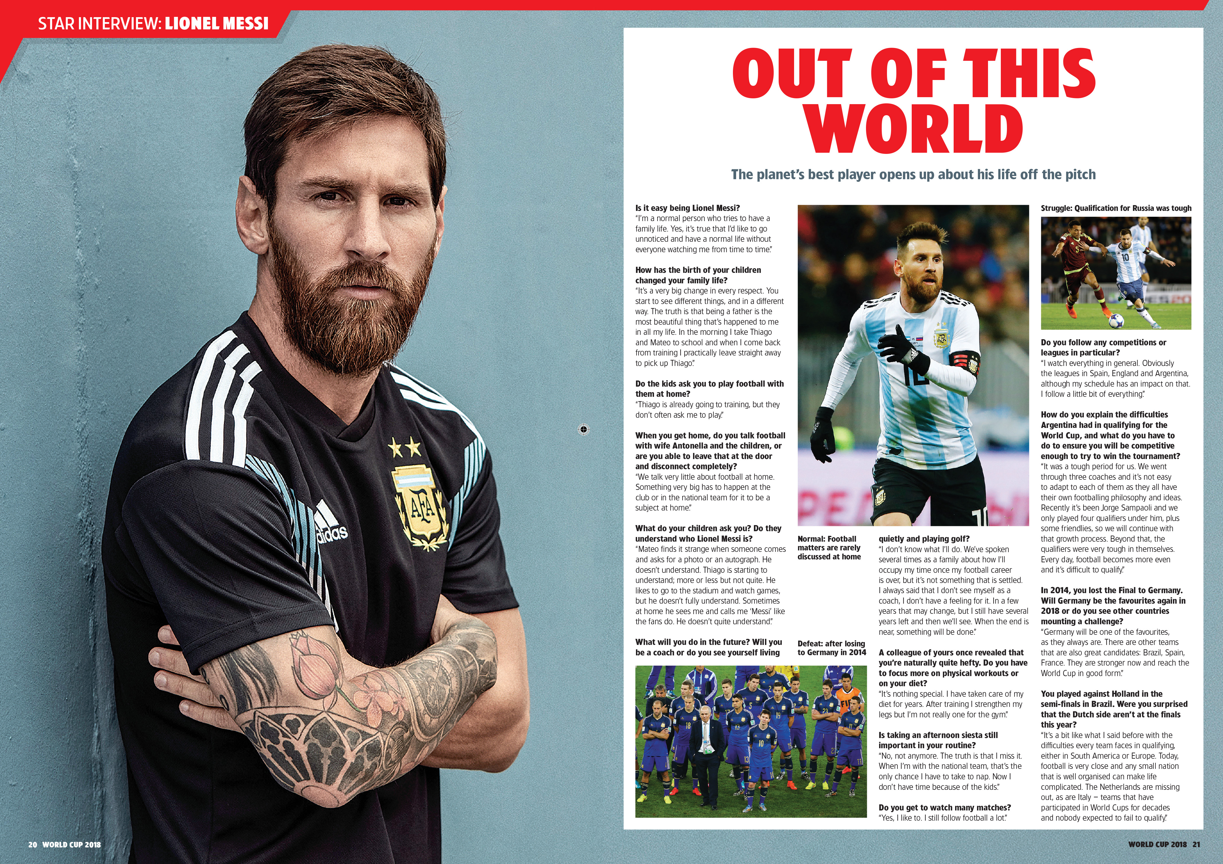 World Cup 2018: Messi