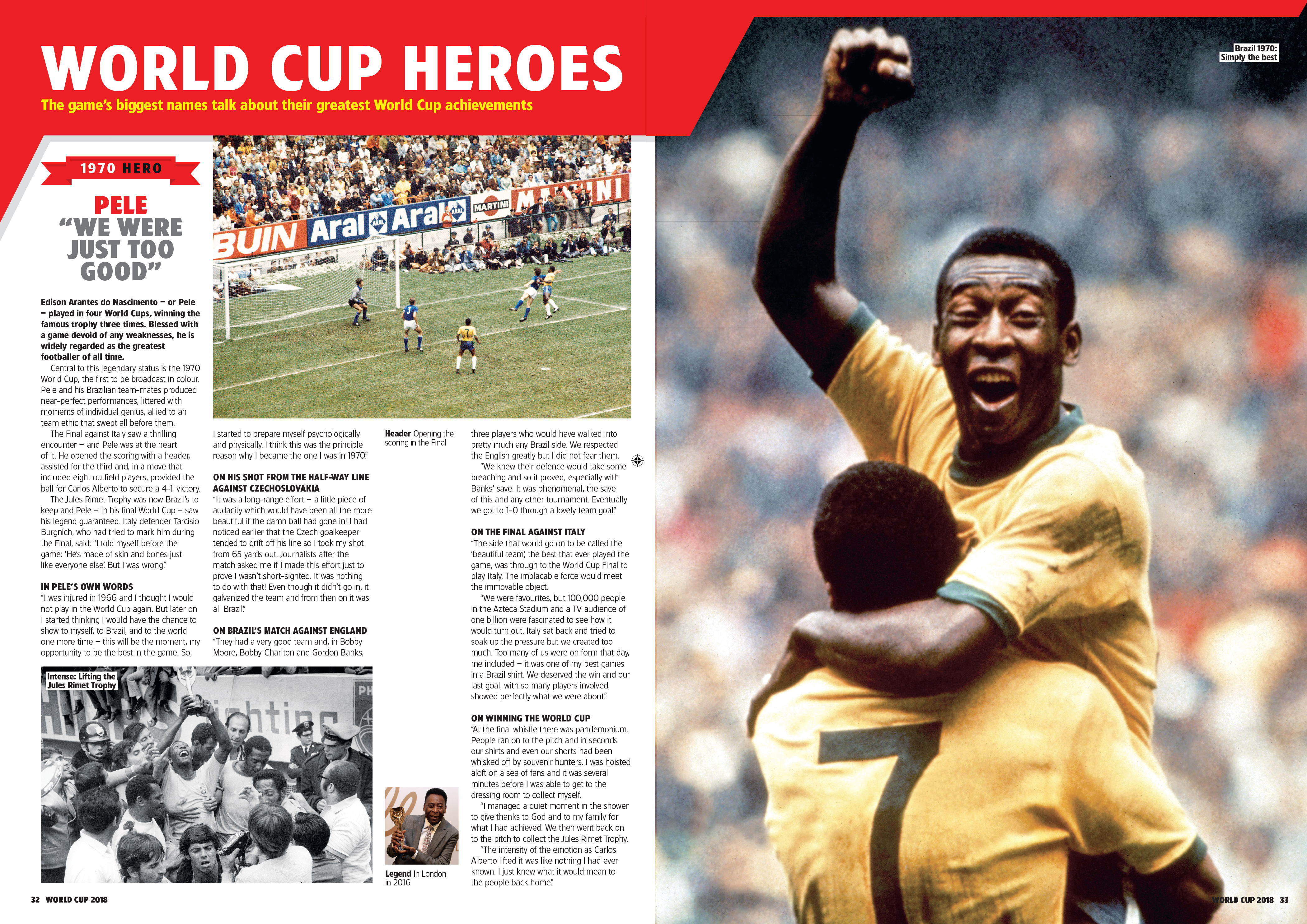 World Cup 2018: Heroes