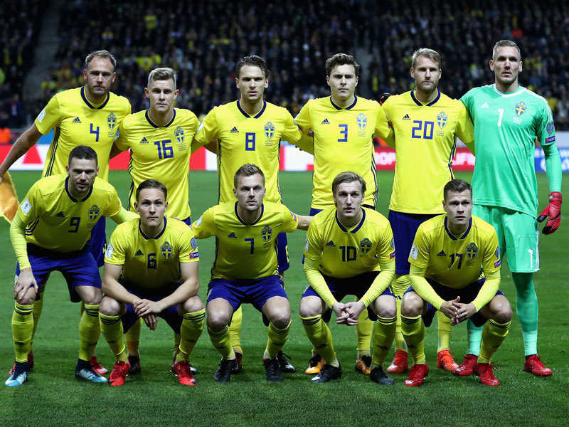Sweden World Cup Fixtures