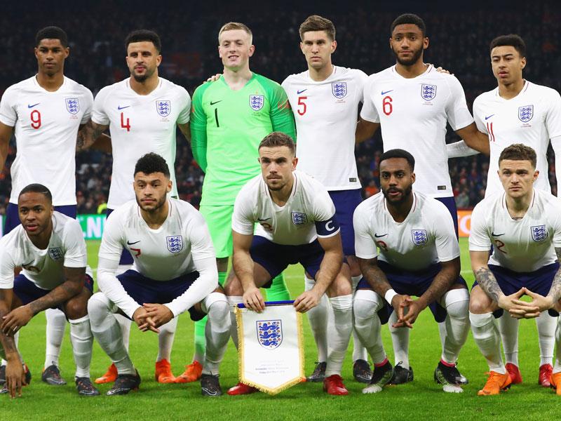 England WM-Spiele