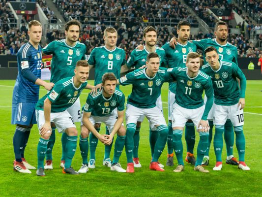 World Cup 2018 Qualifying Squads