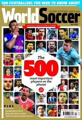 World Soccer 500 - 2018 Edition Club List