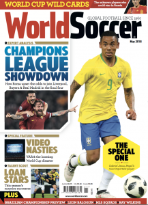 World Soccer cover