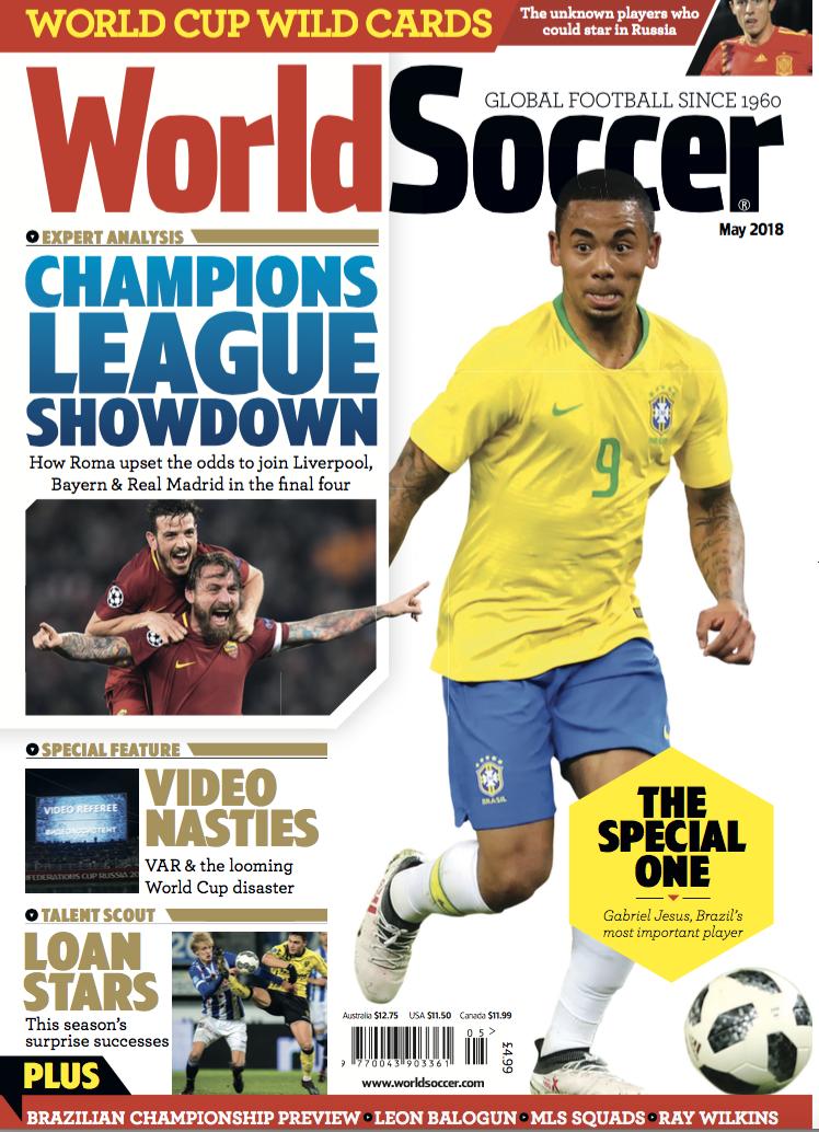 World Soccer May 2018 - World Soccer