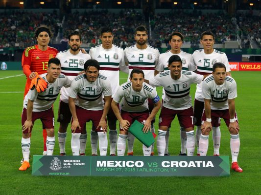 Resultado de imagen para mexico friendly games 2018