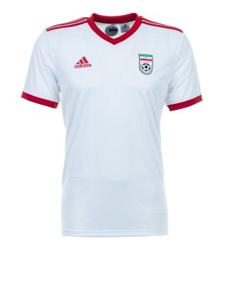 c42a3dcff26 Red and white are the main colours for Iran s home kit (Getty Images)