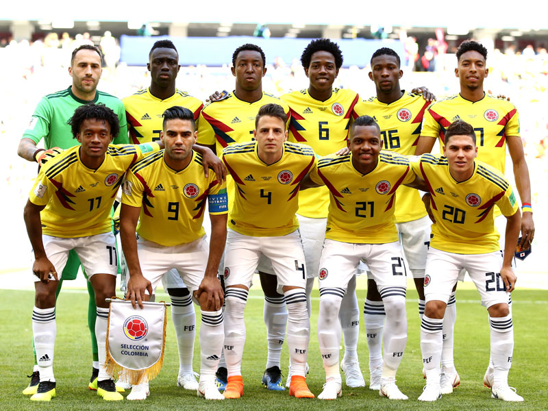 49116eed2df Colombia World Cup Fixtures