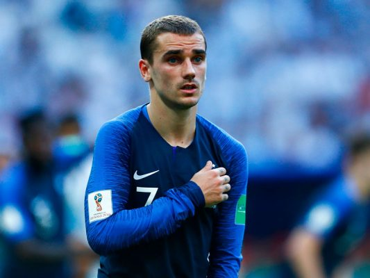 722cc26e2 Antoine Griezmann - Atletico Madrid and France - World Soccer