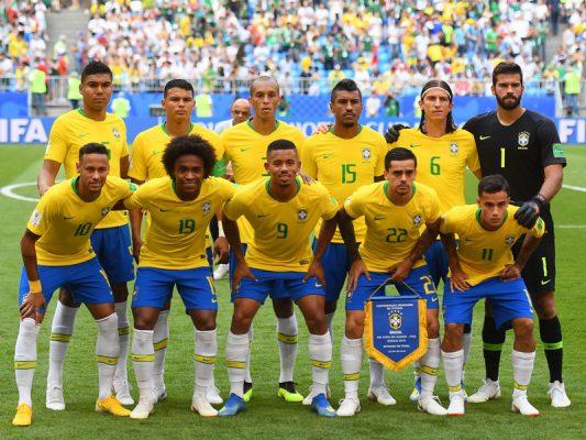 50 nejhodnotnějších Brazilců podle Transfermarkt.com