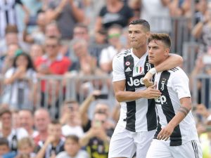 Ronaldo Gets His Juventus Show Off To Good Start