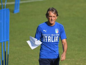 Mancini Gets Down To Serious Business