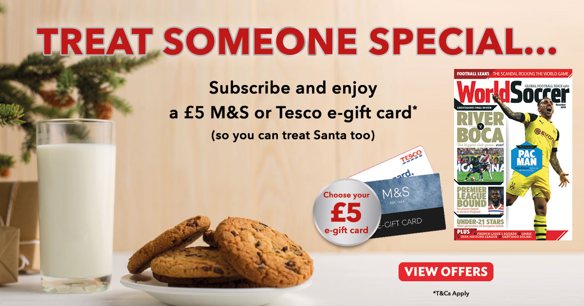Treat someone special this Christmas! - World Soccer