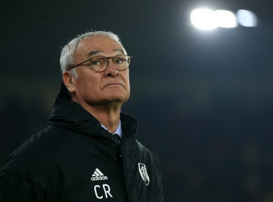 Ranieri Failed To Perform Magic With Fulham | Brian Glanville