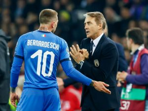 Mancini's Young Italy Off To Good Start