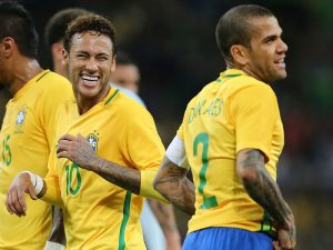 Dani Alves To Replace Neymar As Brazil Captain