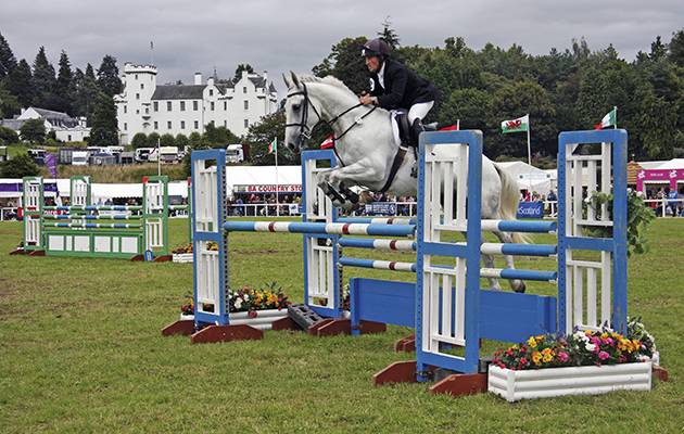 Horse show in Scotland: Blair Castle Horse Trials