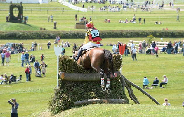 Horse shows in Wiltshire: Barbury International Horse Trials 2014