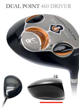 Nicklaus dual point fastback