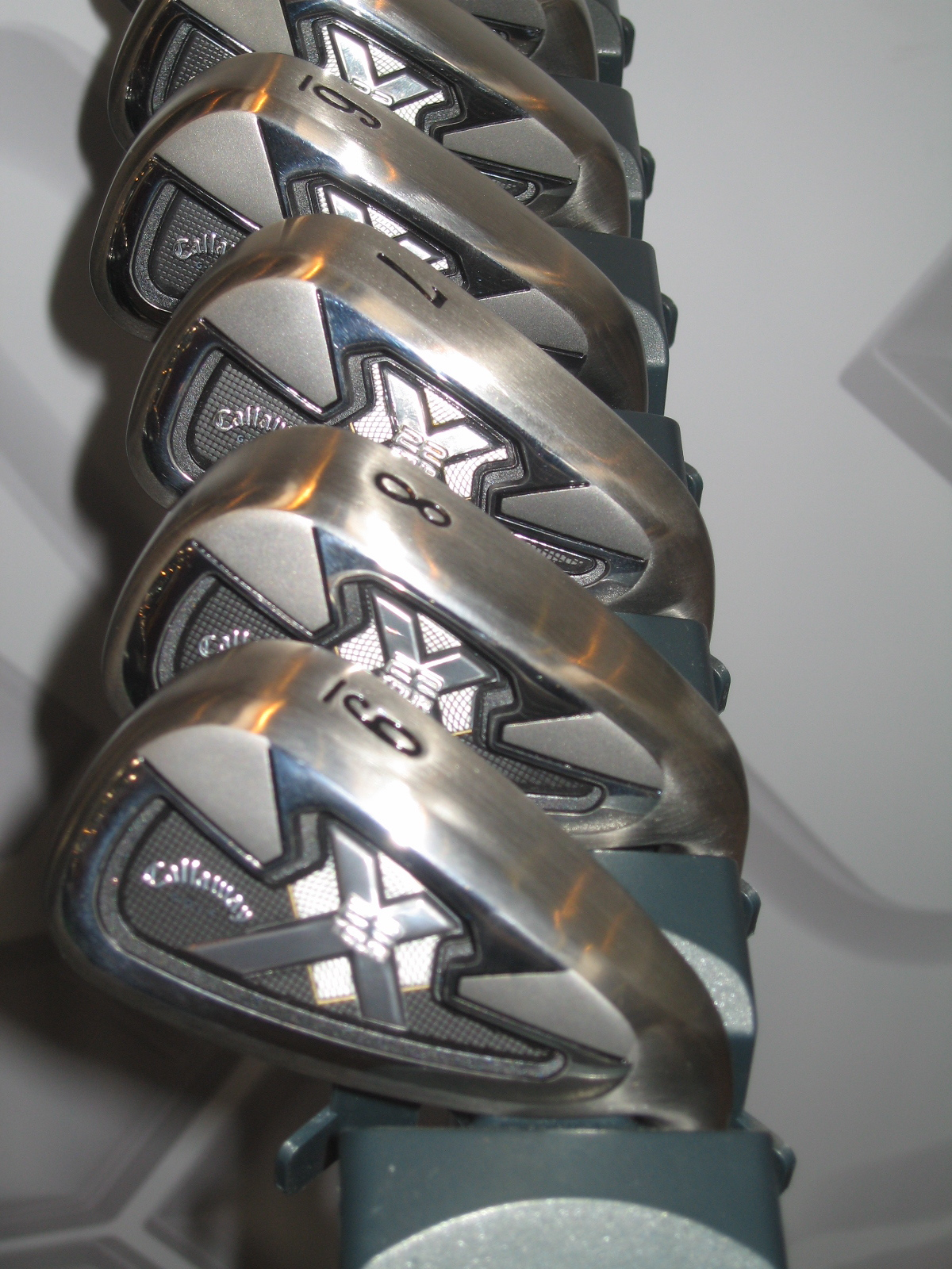 Callaway X22 Tour irons feature a deep cavity for maximum forgiveness