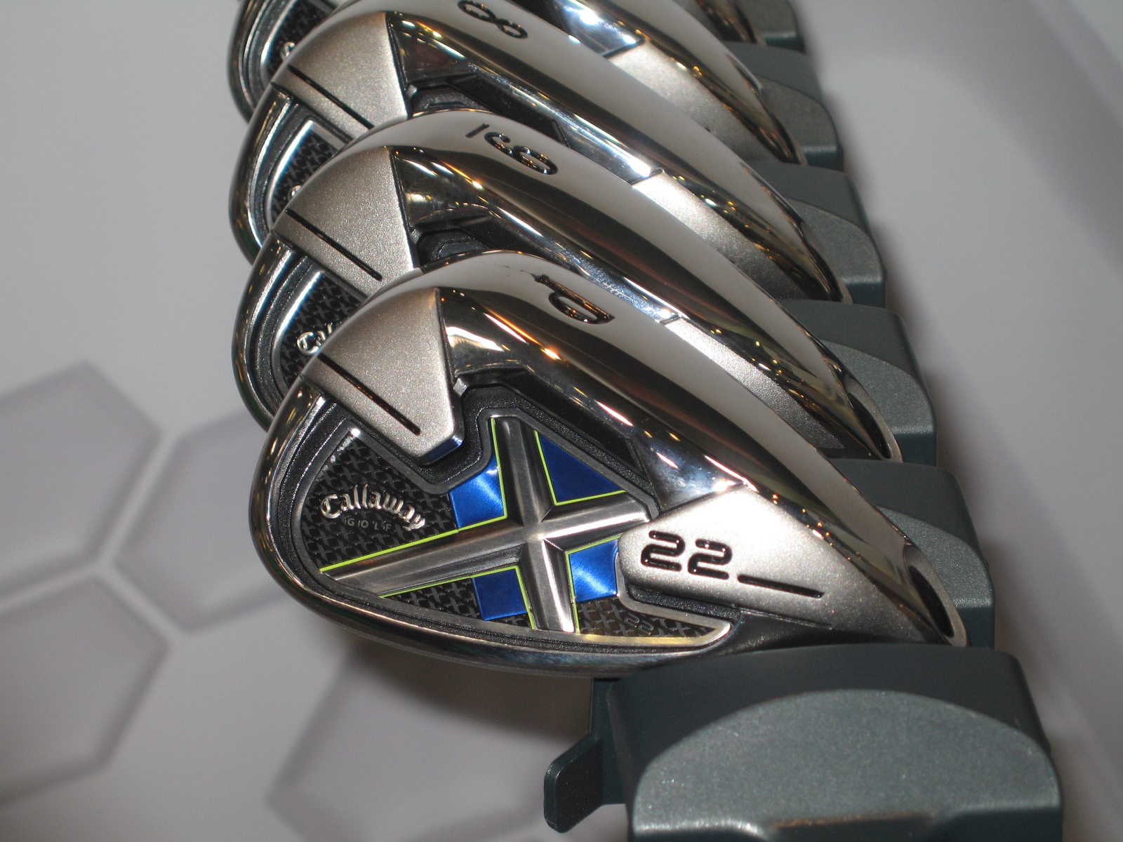 Callaway's X22 irons should be even more forgiving