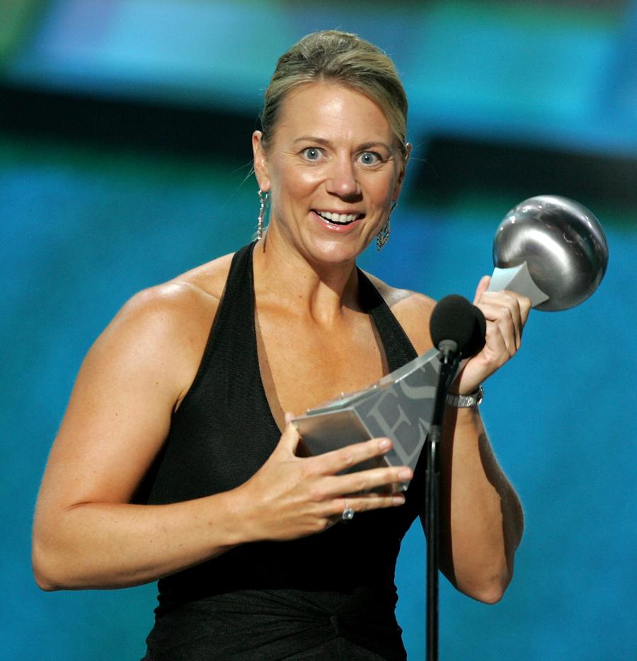 Annika Sorenstam Nominated Best Female Athlete Golf
