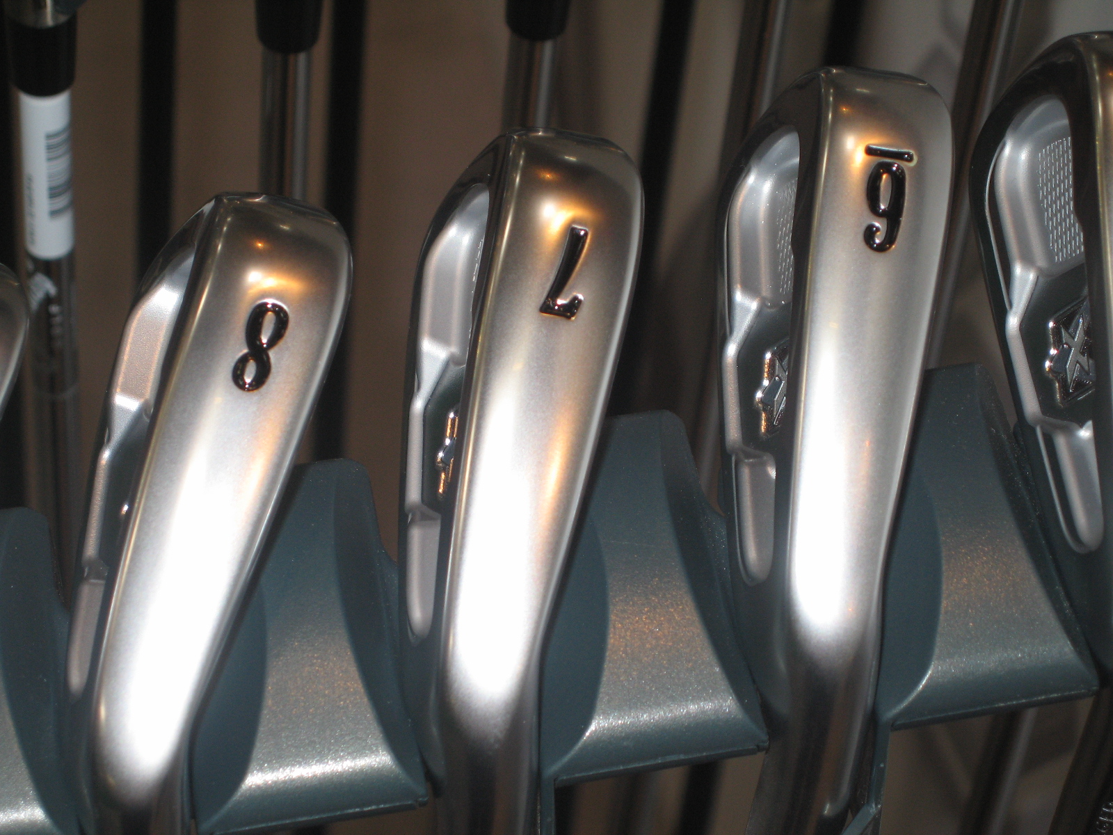 Callaway X Forged irons sole view