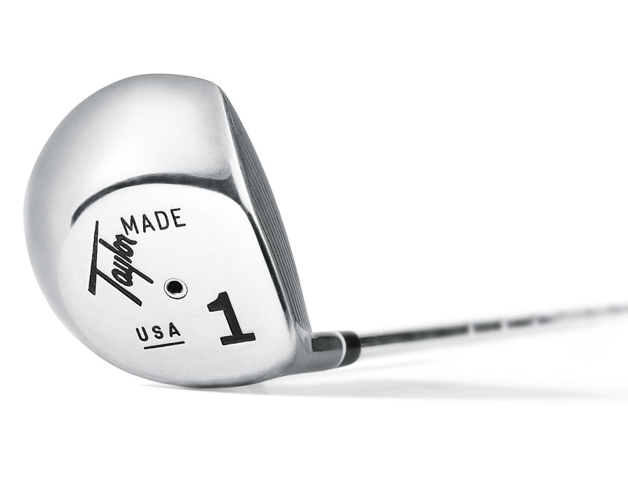 TaylorMade first brought metal woods into the golf world