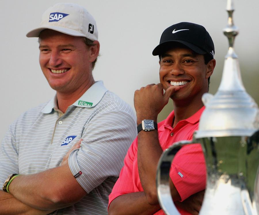 Ernie Els & Tiger Woods