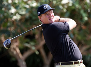 Ernie Els with the Callaway FT-9 driver