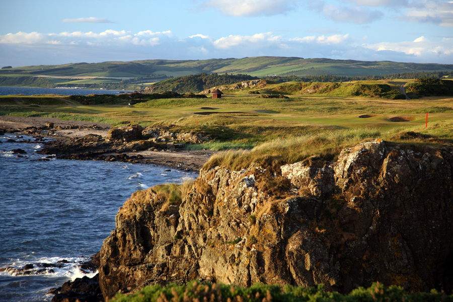 Turnberry Ailsa Course, 10th hole Dinna Fouter