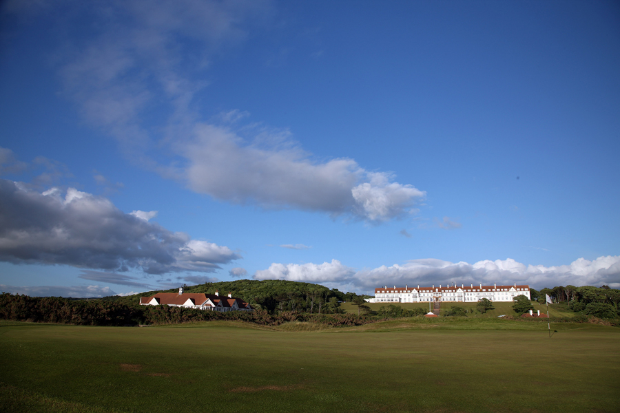 Turnberry Ailsa Course, 2nd hole Mak Siccar