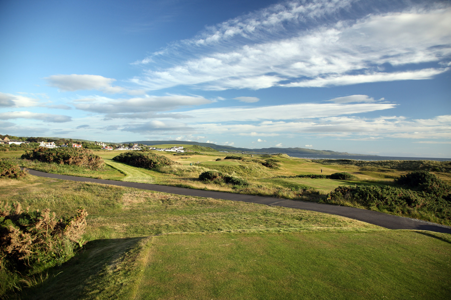 Turnberry Ailsa Course, 3rd hole Blaw Wearie