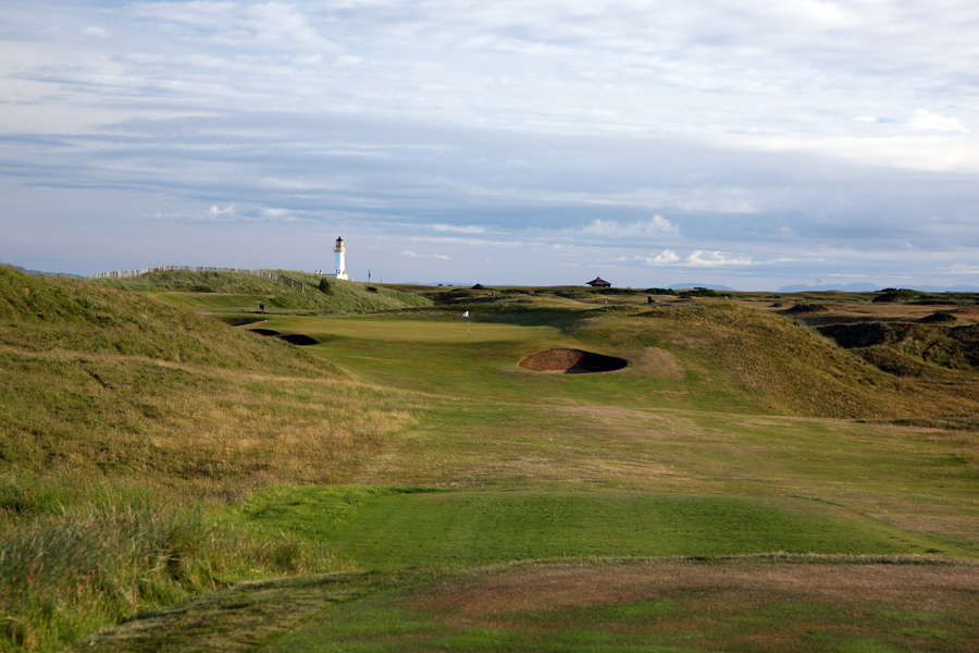 Turnberry Ailsa Course, 6th hole Tappie Toorie
